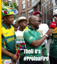 Tholi B shows us his #ProteaFire