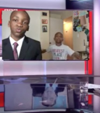 Little boy recreates this hilarious interview