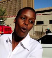 Zanele brings the heat! JHB woman's #Braampark witness account