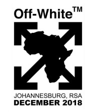 Virgil Abloh's Off-White pop-up store in Joburg