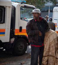 GALLERY:Joburg's homeless people taken to shelters during SA's COVID-19 lockdown