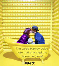 The Jared Harvey voice note... Changing the relationship nickname game forever!