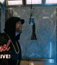 [WATCH] Eminem performs Venom from the Empire State Building