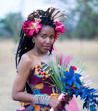 Rina Chunga takes the lead in the African-print industry