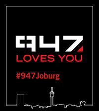 If you love Joburg, 947 loves you