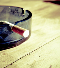 True or False - half of all men in South Africa are smokers?