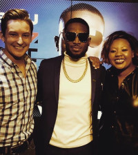 Anele and D'Banj had Joburg in stitches!
