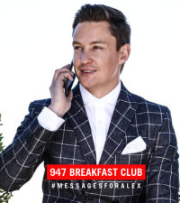 The 947 Breakfast Club is leaving #MessagesForAlex in the UK... and it's classic