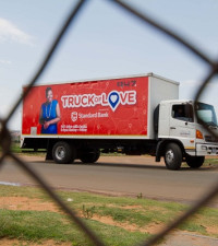 #TruckOfLove visits the Mohayi family