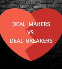 Deal makers and deal breakers in your online dating profile