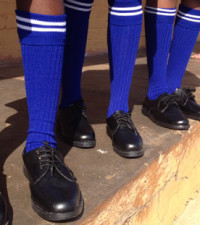 Too cool for school? PTA pupils protest for skinny pants