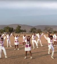 [WATCH] Ndlovu Youth Choir take on the Jerusalema Dance Challenge