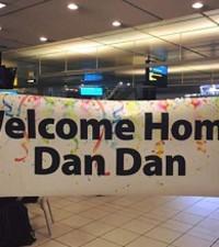 Dan Dan Comes Home!
