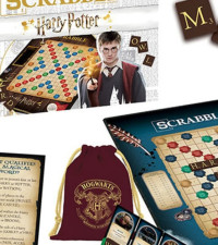 There's a Harry Potter Scrabble game where words like Accio are acceptable