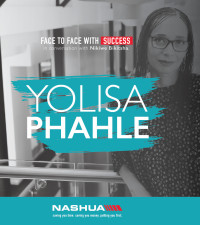 Face to face with Yolisa Phahle