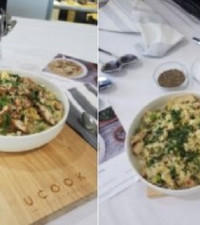 WATCH: Celeb chef Kamini Pather and Ucook add some flavour to risotto recipe