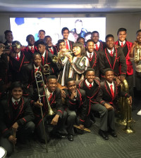 The Parktown Boys Brass and Drum Corps performing Ngud' will make your day