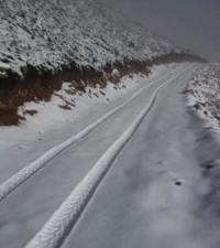 [Watch] Sunday snowfall on Table Mountain