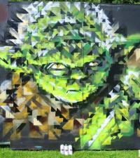 Some cool street art to celebrate Star Wars Day