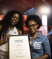 Ntsikayezwe Development Foundation honored as Lead SA Hero