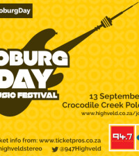 Guess the Band -and win #947JoburgDay tickets