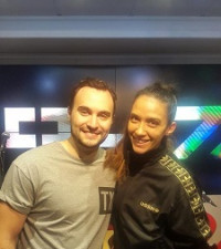 Jesse Clegg in Studio with Stacey Norman