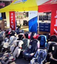 600+ car seats collected!