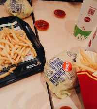 If your friend invites you over for dinner and serves you McDonald's?