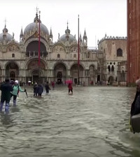 [WATCH] Insane footage of the Venice floods, the worst since 1966