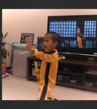 Step aside Bruce Lee!