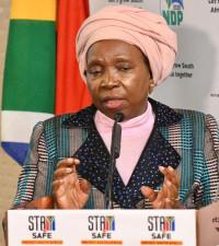 Dlamini-Zuma has a duty to prevent spread of COVID-19 & save lives, court told