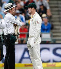 'Bancroft didn't realise he was being filmed'