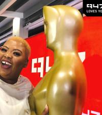 Anele's #Oscars2019 golden send-off party