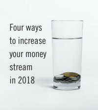 Four ways to boost your income in 2018
