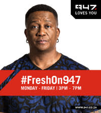 #FreshOn947 DJ Fresh set to join 947 as new drivetime host