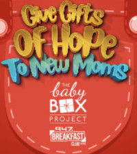Thank you for helping raise over R200K for the Breakfast Club's Baby Box Project