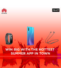 Download the 947 App, register, and stand a chance to win this hot Huawei hamper