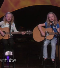 WATCH: These 10-Year Old Twin Sisters WOW With their Amazing Performance