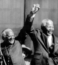 "Desmond Tutu Lauds ""Mandela the Unifier"""