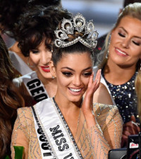 South Africa's Nel-Peters crowned Miss Universe