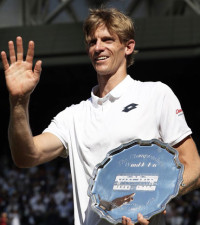 'Kevin is at a career high of No.5 in the world ATP rankings'