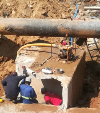Joburg Water fixing Sandton pipes, water supply not affected