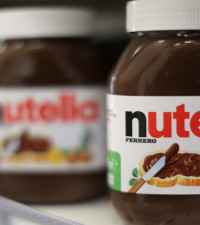 Ever wondered what goes into the making of a jar of Nutella?