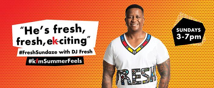 #FreshSundaze with DJ Fresh