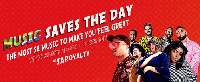 Music Saves The Day: SA Royalty