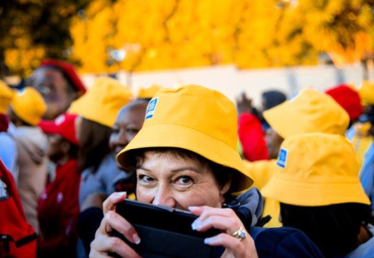 Showcase your cause to the broader community at #MTN702Walk
