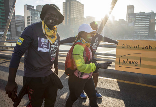 Thousands take to Joburg's street to celebrate 25 years of Democracy