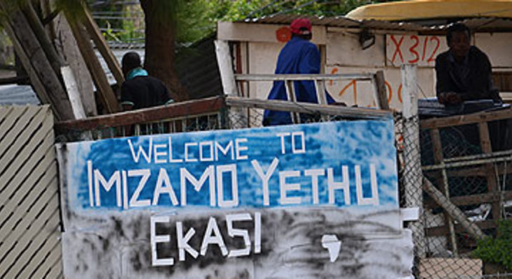 UCT Architecture students design water points for Imizamo Yethu residents