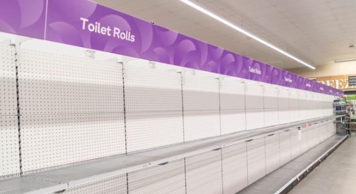 [LISTEN] The Flash Drive: Got toilet paper? This is how much you ACTUALLY need.