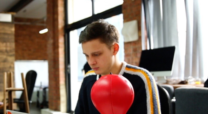 This Desktop Punching Bag Will Help You Relieve Some Stress At The Office